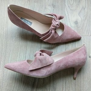 SJP Sarah Jessica Parker Roux 50 Bow Heels